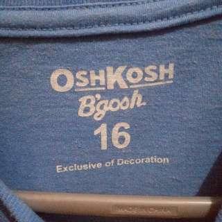 Original oshkosh tshirt for sale
