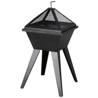 Jumbuck Steel Fireplace with Stand