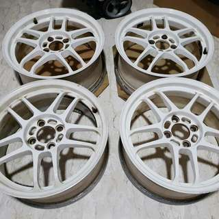"16"" Original Racing Hart CP-035 Forged Sports Rims"