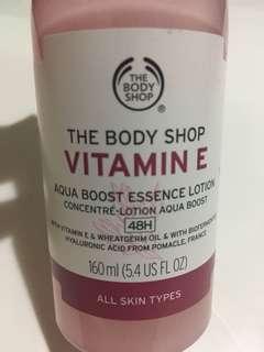 The body shop Aqua boost Essence lotion