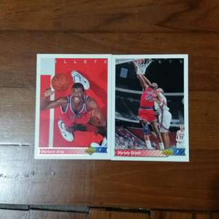 NBA Upper DECK 1992-1993  Bullets 籃球卡