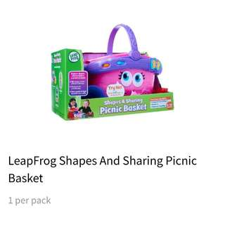 Leap Frog Shapes And Sharing Picnic Basket