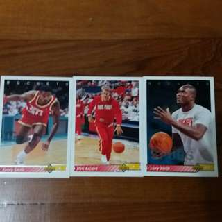 NBA Upper DECK 1992-1993  Houston Rockets 籃球卡