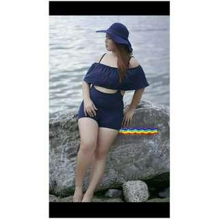 Plus Size Offshoulder Swimsuit / Dyosa Swimwear