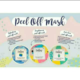 Peel of mask daisy