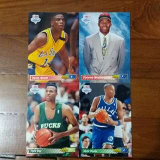 NBA Upper DECK 1991-1992 NBA Draft 籃球卡