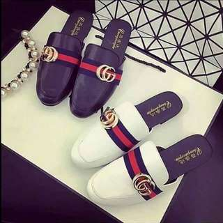 Gucci black footwear