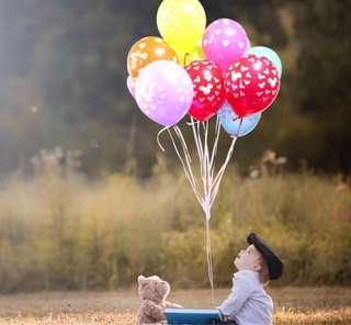 Mickey head latex balloons
