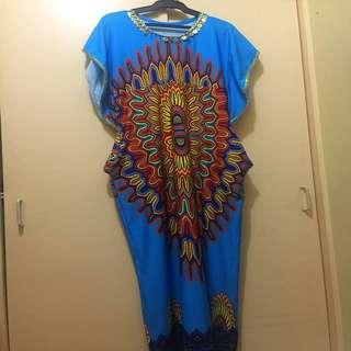 African Long Dress