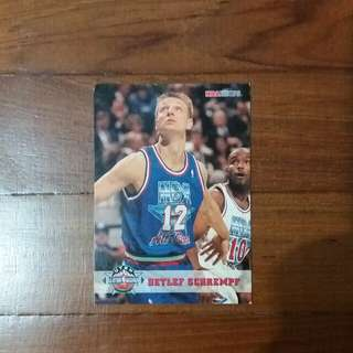 NBA Upper DECK 1993  Uath All-Star Weekend 籃球卡