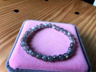 6mm Moonstone Bracelet