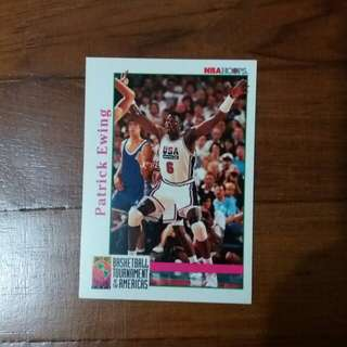 NBA Upper DECK 1992 NBA Hoops Basketball Tourament of the America  籃球卡