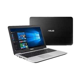 Kredit Laptop ASUS X555BA A9 ram 4GB hdd 1TB ready HP Kamera PS4