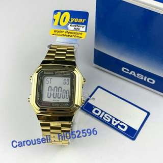 Casio Gold Watch (2)
