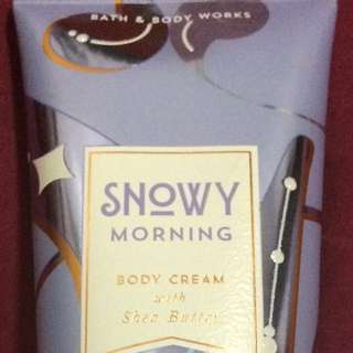 Snowy Morning Body Cream