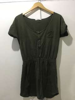 Cotton On Army Green Dress