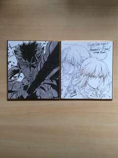Fate/Stay Night Heaven's Feel Shikishi