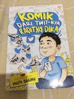 Komik Raditya Dika+Ttd Ori