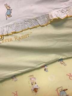Peter Rabbit 床笠 + 床圍