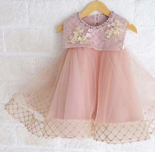 Baby/toddler/kids/girl party dress (handmade and premium material)