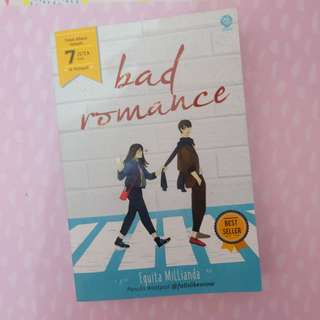 [FREE ONGKIR JABODETABEK] BAD ROMANCE BY EQUITA MILLIANDA