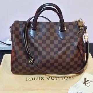 Auth Louis Vuitton Damier Ebene 30b