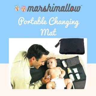 Baby Portable Changing Mat (Black)