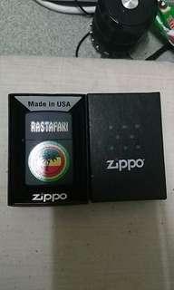 Zippo Lighter Rastafari Emblem