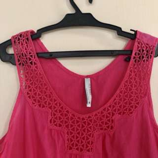 Old Navy Hot Pink Top