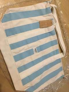:chocoolate 間條袋(粉紅&粉藍各一)