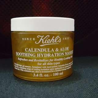 Kiehls calendula & aloe soothing hydration masque
