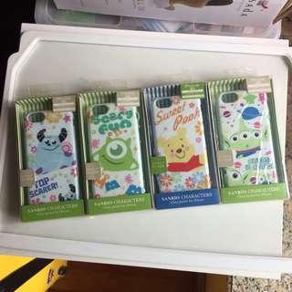 <清貨賤賣> 包郵 Disney 卡通人物 毛毛 iphone6 6s case 全包邊電話殻