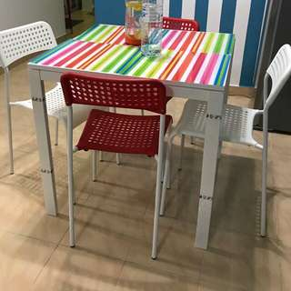 IKEA Dining Table Set 4 seater