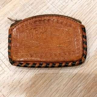 🇺🇸古董真皮零錢包
