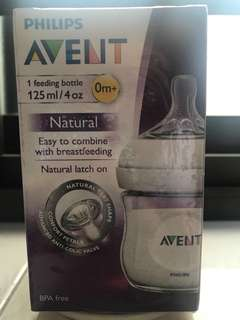 NEW Phillips Avent feeding bottle 125ml