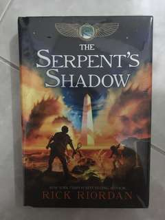 The serpent's shadow HB