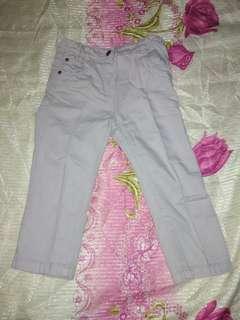 Set 2 (12 - 18 months) Pants + 2 Poloshirts. EUC
