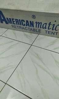 Tenda matic merk american matic ukuran 2 kali 2 meter warna pink magenta