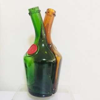 Vintage 1970s Liquor bottle