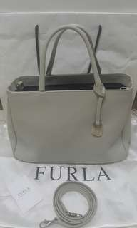 Authentic Furla satchel/crossbody bag