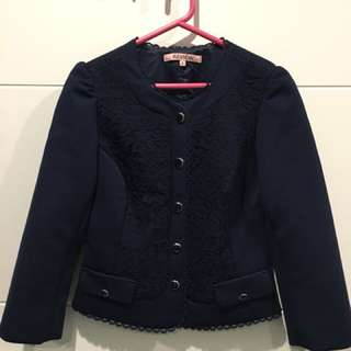 Review jacket in navy