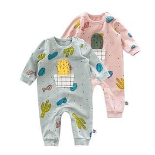 Cactus Baby Romper, Cactus Baby Jumpsuit, Cactus Pajamas