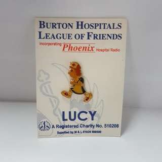 Burton Hospitals League Of Friends Lucy Pin