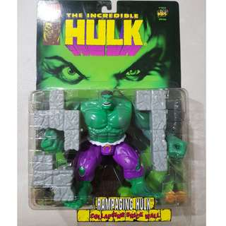 The Incredible Hulk, Marvel Comics, Toy Biz 1996