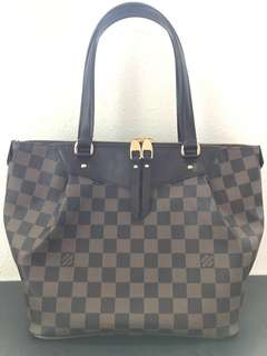 Like new Louis Vuitton LV Westminster bag PM damier ebene canvas