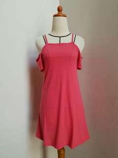 H&M Pink shabrina dress