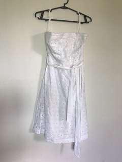 American Eagle Eyelet White Dress