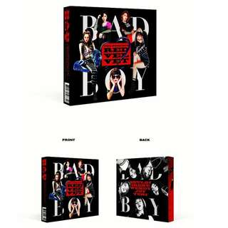 "ON HAND SEALED ALBUM RED VELVET THE PERFECT RED VELVET ""BAD BOY"" Repackage WITH POSTER"