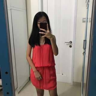 Simple Dress (peach)