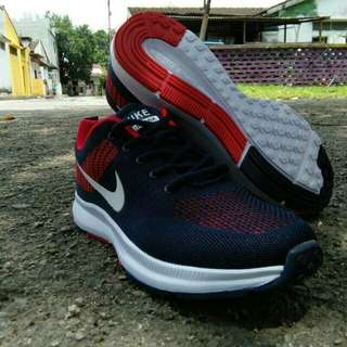 Nike zoom Navy red (A)